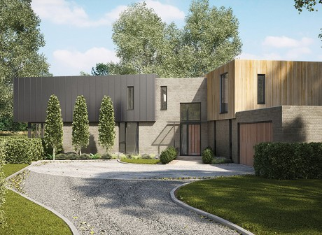 Packhorse Lane contemporary dwellings