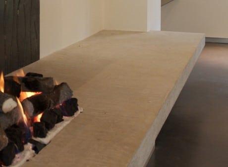 Woodridge House fireplace