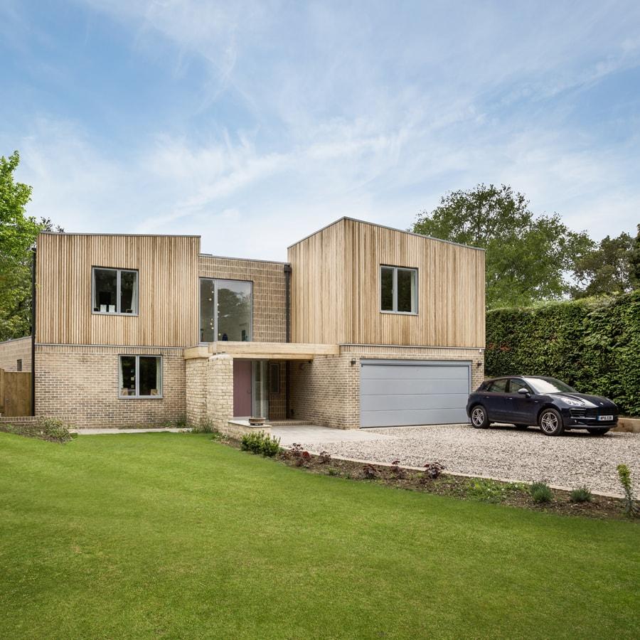 near zero-carbon replacement dwelling