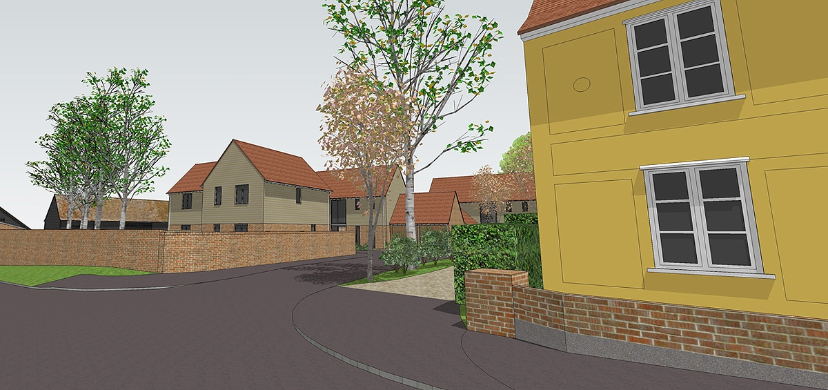 Priory Farm multi-development feature